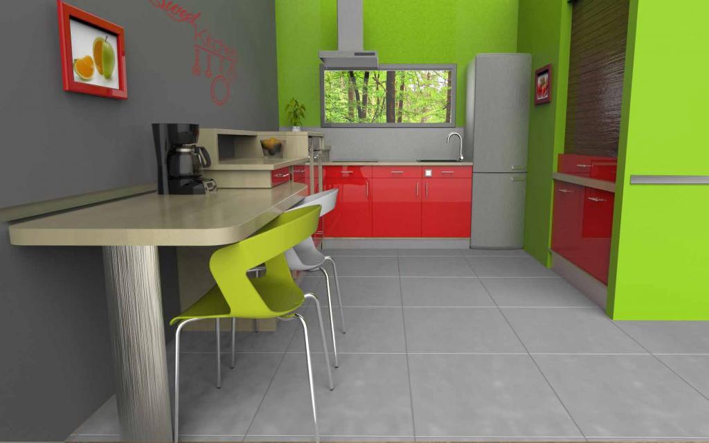 LES CONSTRUCTIONS DE SIMÉON cuisine 60-70 ans