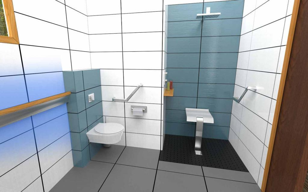 SIMÉON salle de bain 80-90 ans